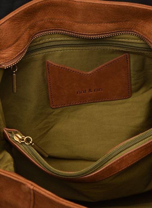 Handtaschen Nat & Nin Chiara braun ansicht von hinten