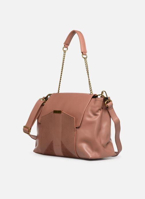 Handtaschen Nat & Nin Chiara rosa schuhe getragen