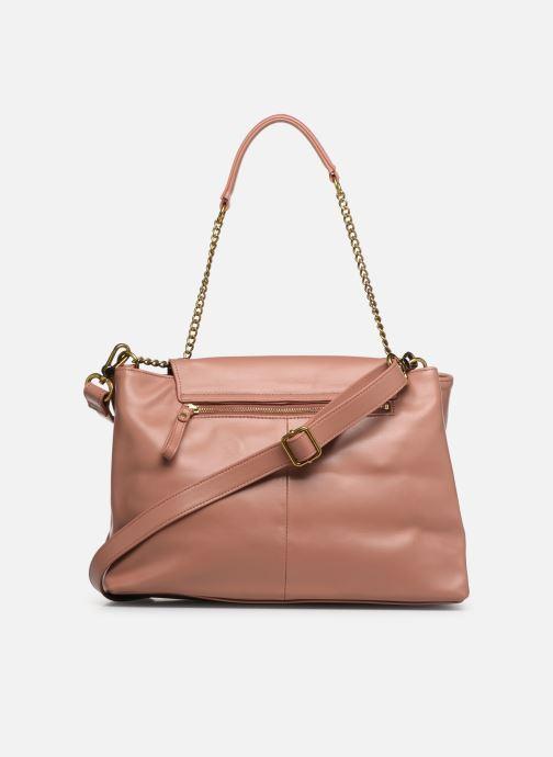 Handtaschen Nat & Nin Chiara rosa ansicht von vorne