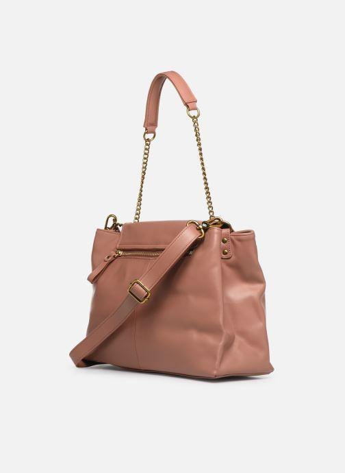 Handtaschen Nat & Nin Chiara rosa ansicht von rechts