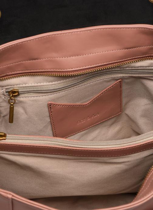 Handtaschen Nat & Nin Chiara rosa ansicht von hinten