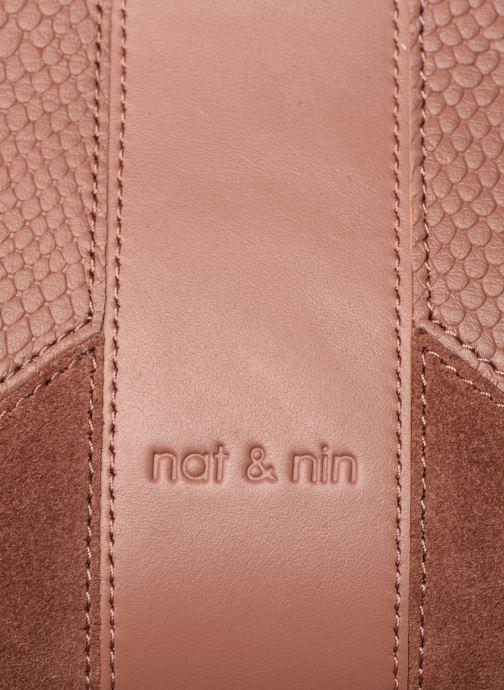 Handtaschen Nat & Nin Chiara rosa ansicht von links