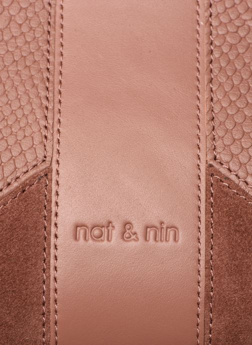 Sacs à main Nat & Nin Chiara Rose vue gauche