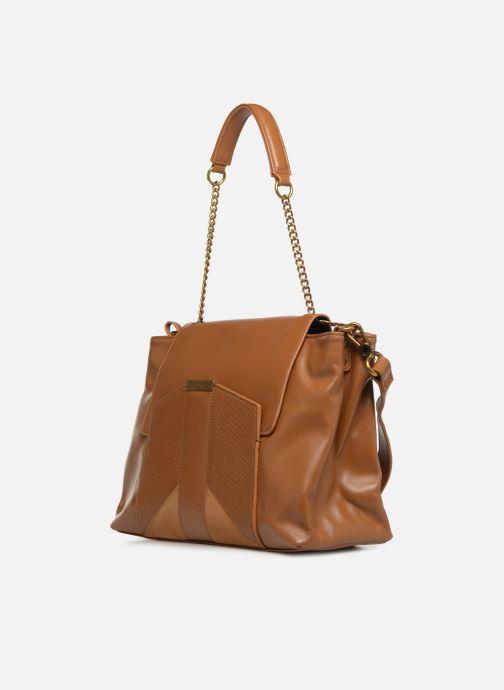 Handtaschen Nat & Nin Chiara braun schuhe getragen