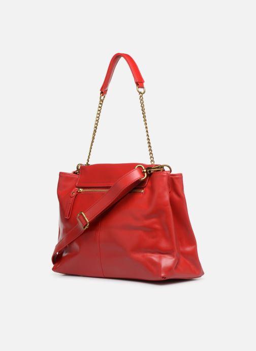 Handtaschen Nat & Nin Chiara rot ansicht von rechts