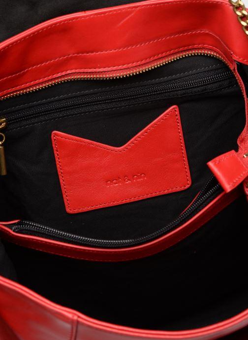 Handtaschen Nat & Nin Chiara rot ansicht von hinten