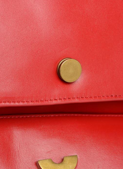 Handtaschen Nat & Nin Chiara rot ansicht von links