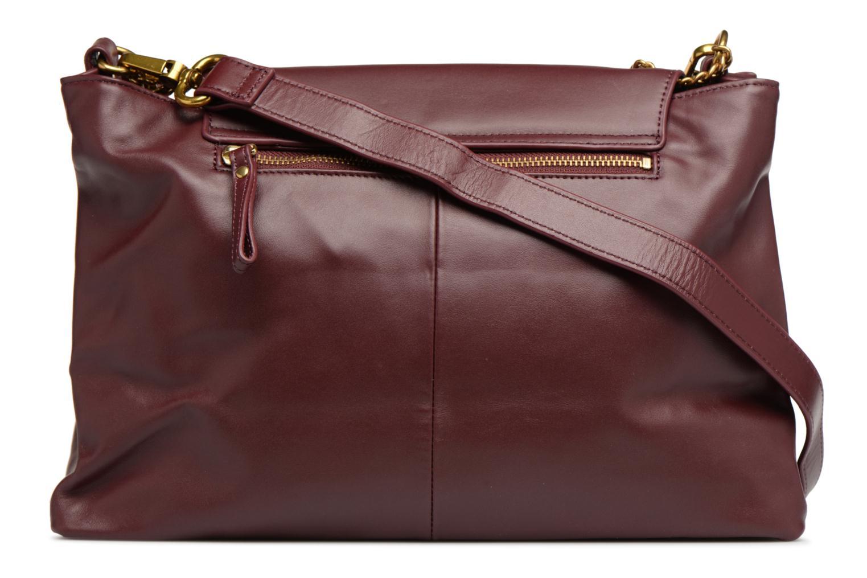 Handbags Nat & Nin Chiara Burgundy front view