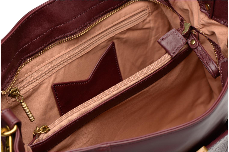 Handbags Nat & Nin Chiara Burgundy back view