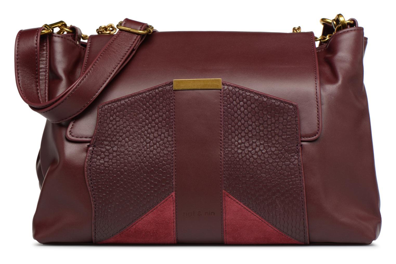 Handbags Nat & Nin Chiara Burgundy detailed view/ Pair view
