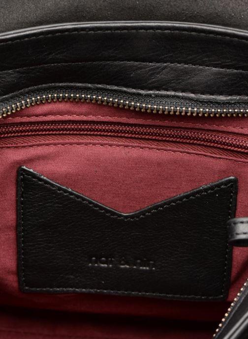 Sacs pochettes Nat & Nin Paola Noir vue derrière