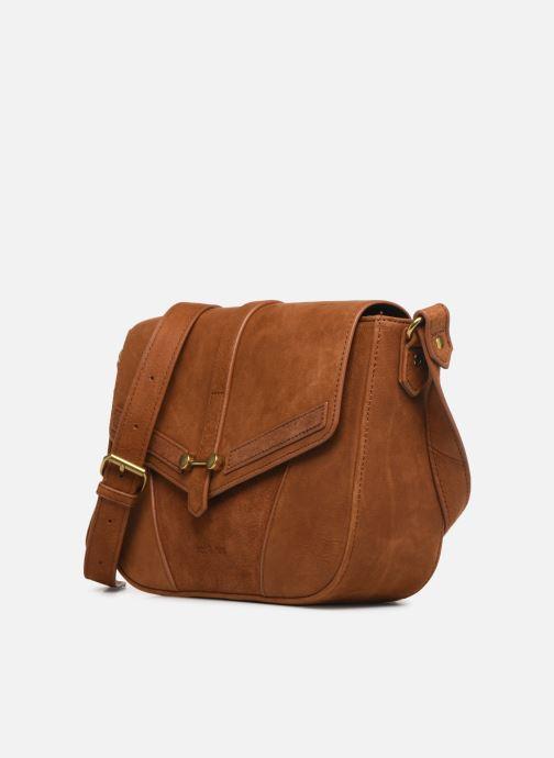Mini Bags Nat & Nin Paola braun schuhe getragen