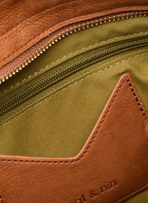 Mini Bags Nat & Nin Paola braun ansicht von hinten