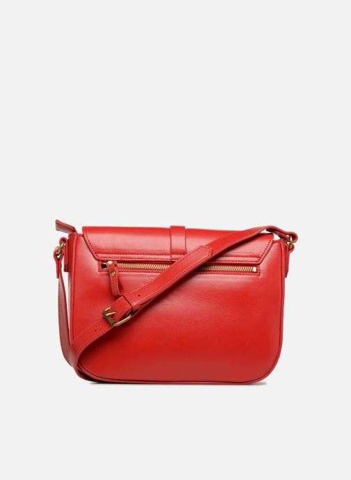 Clutch bags Nat & Nin Paola Red front view