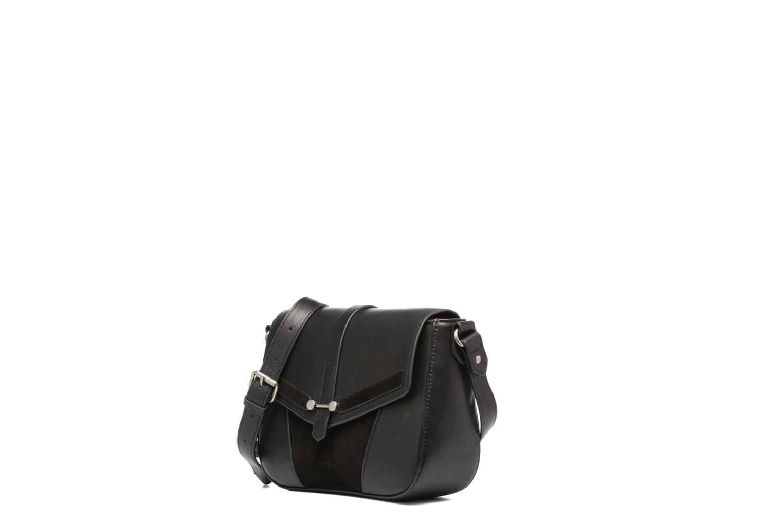 Clutch bags Nat & Nin Paola Black model view