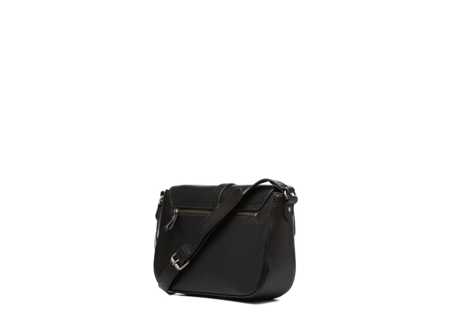 Clutch bags Nat & Nin Paola Black view from the right