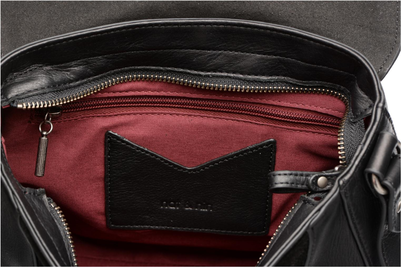 Clutch bags Nat & Nin Paola Black back view