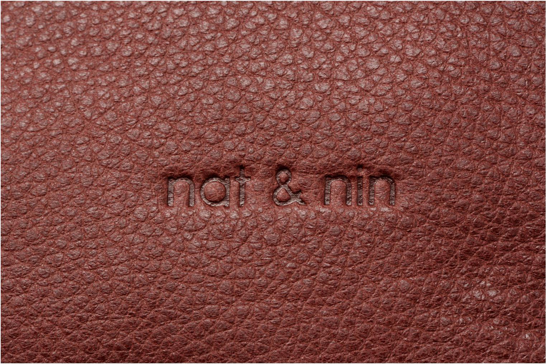 Sacs à main Nat & Nin Sixtine Rouge vue gauche