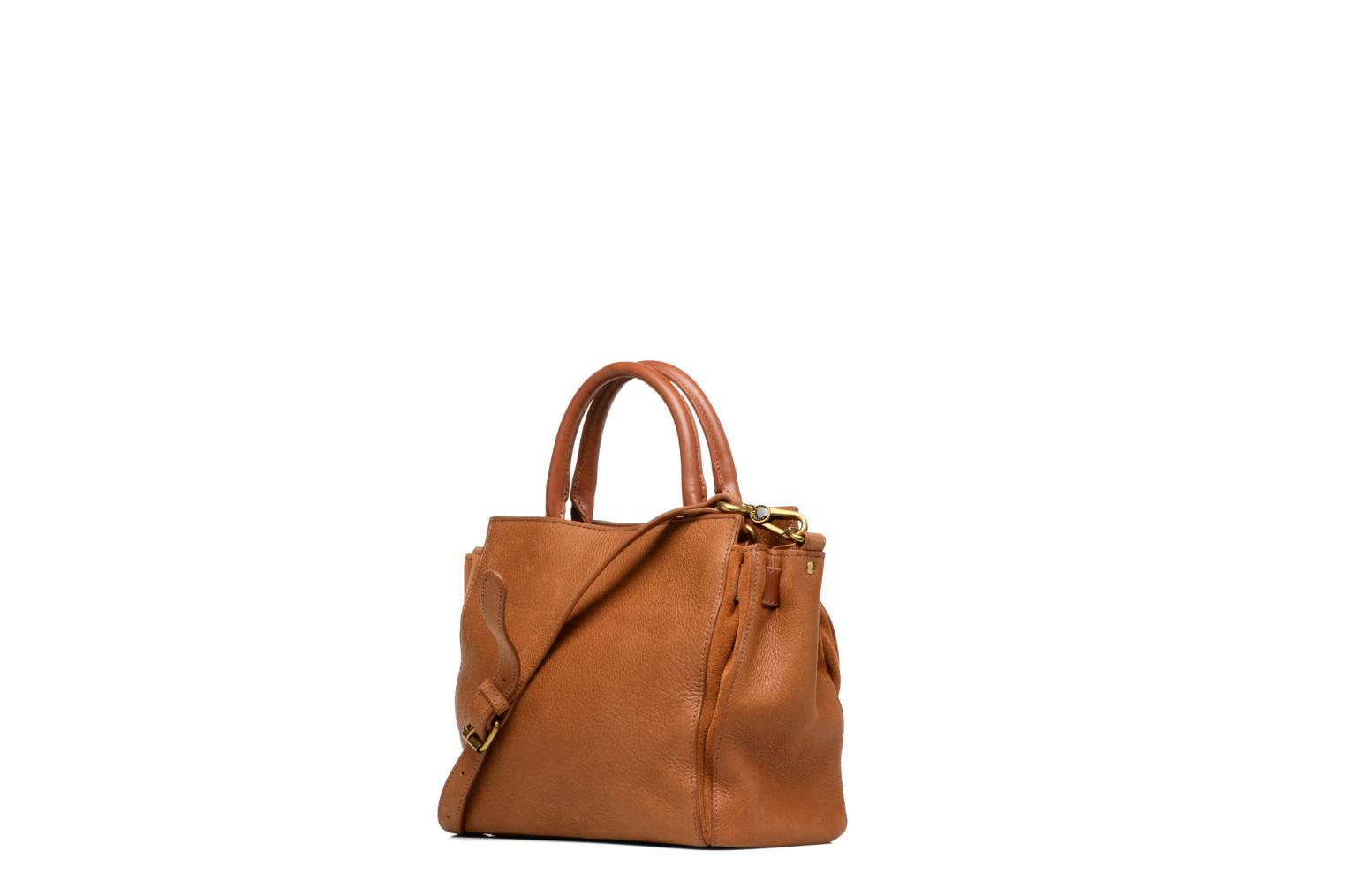 Handbags Nat & Nin Solange Brown view from the right