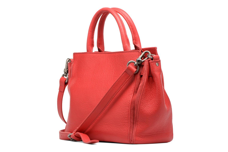 Handtaschen Nat & Nin Solange rot ansicht von rechts