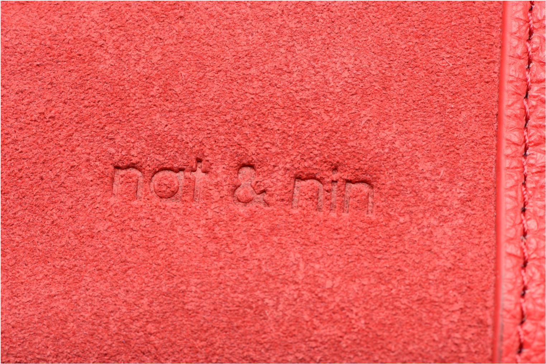 Handtaschen Nat & Nin Solange rot ansicht von links