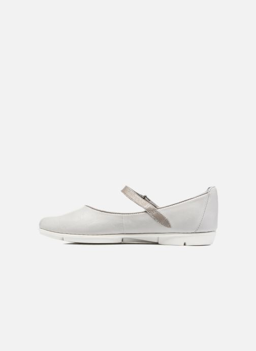 Ballerines Clarks Tri Axis Gris vue face