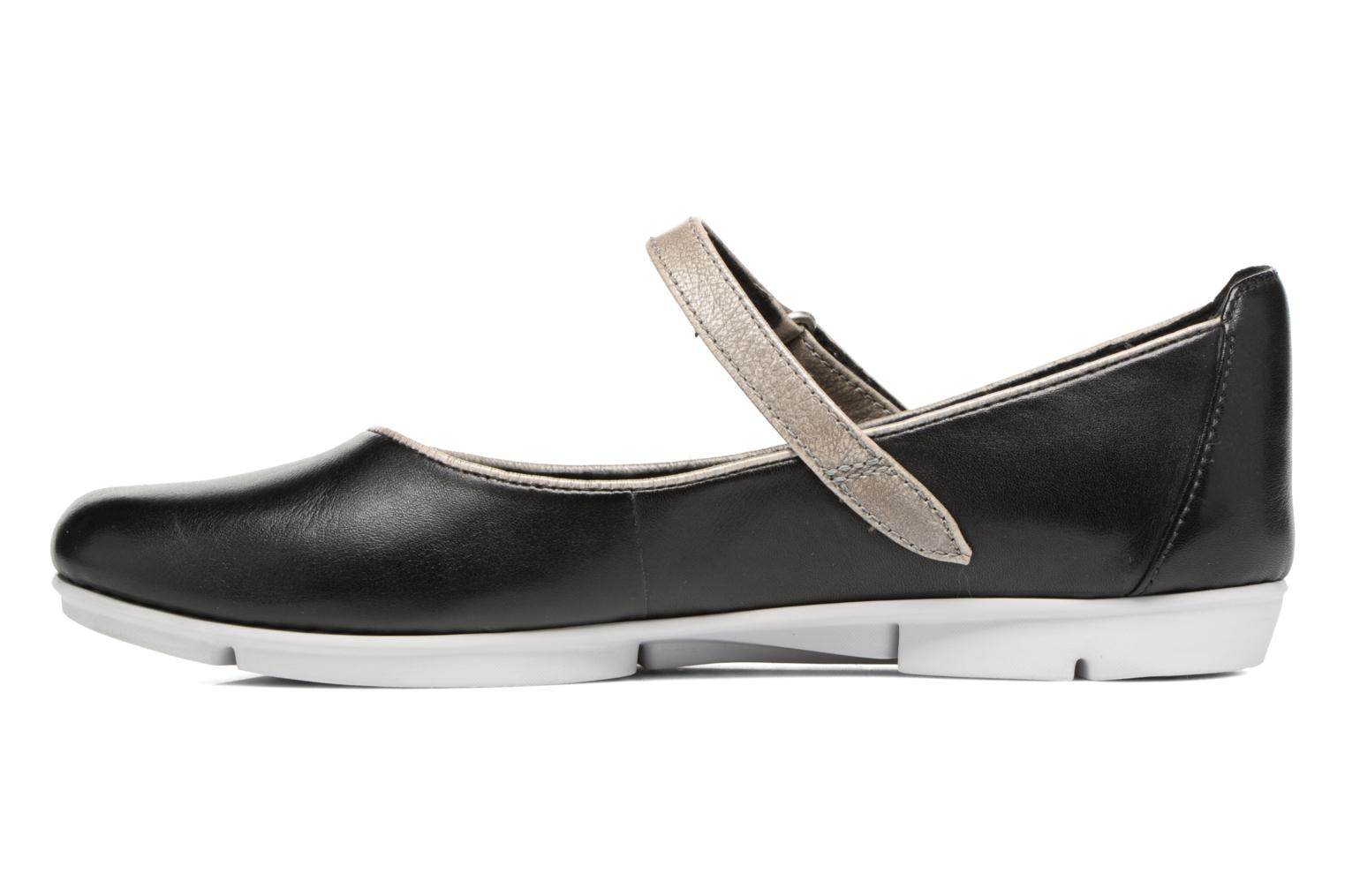 Ballet pumps Clarks Tri Axis Black front view