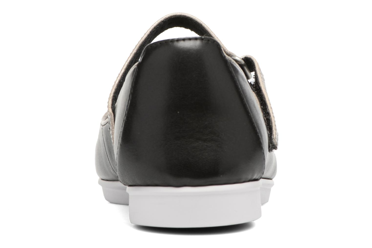 Ballet pumps Clarks Tri Axis Black view from the right