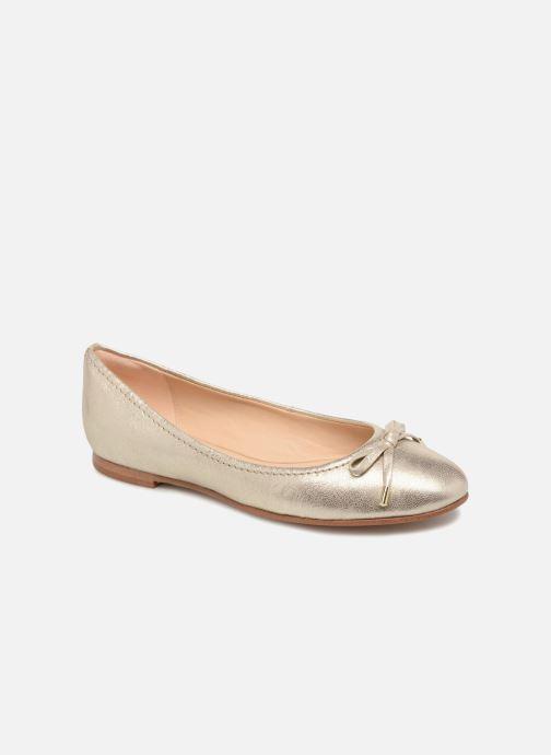 Ballerines Clarks Grace Lily Or et bronze vue détail/paire