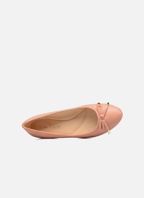 Clarks ballerina pump Grace Lily Nude Pink