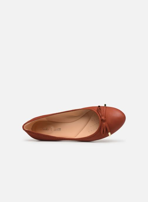 Ballerine Clarks Grace Lily Rosso immagine sinistra