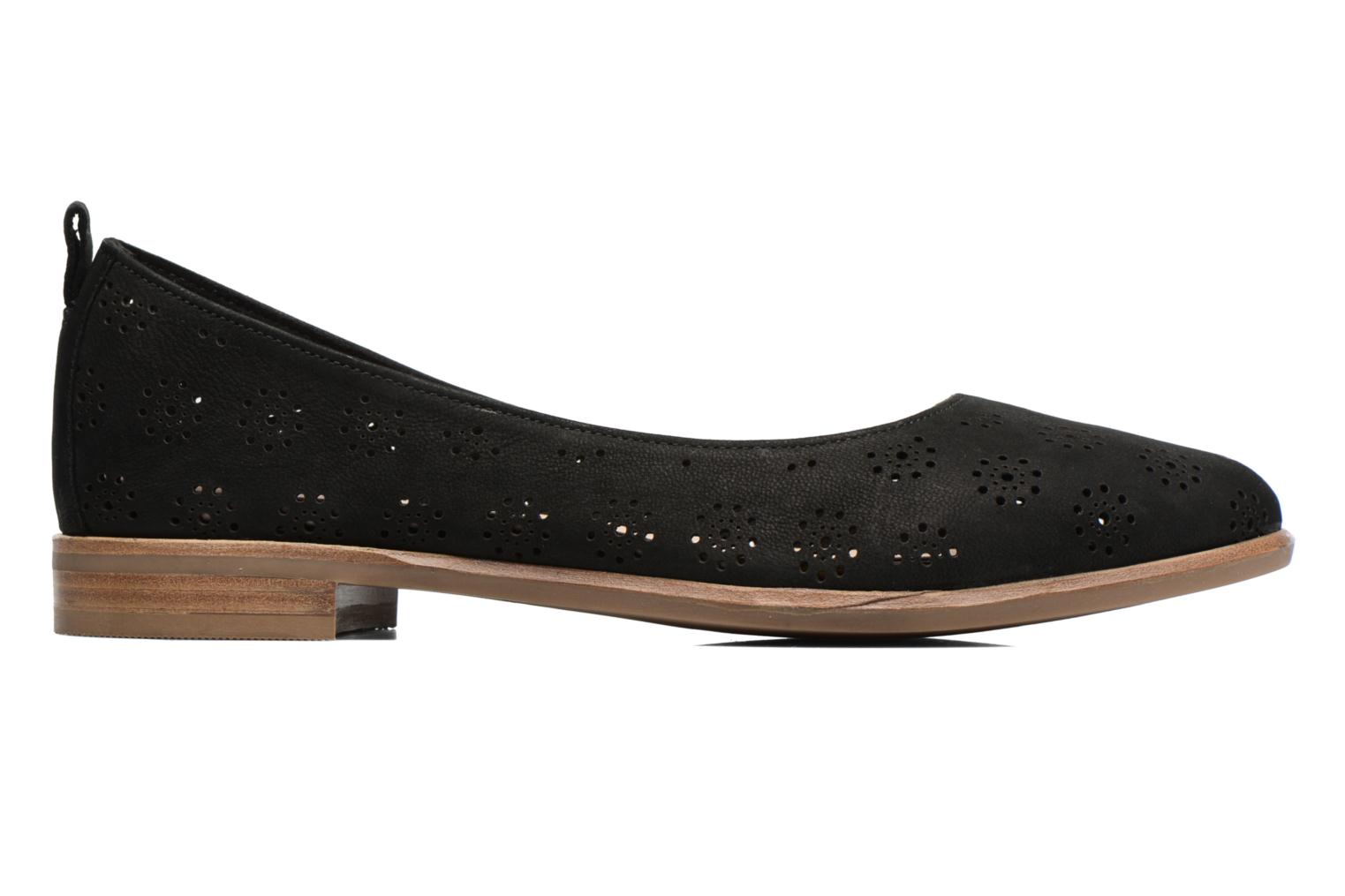 Ballet pumps Clarks Alania Rosa Black back view