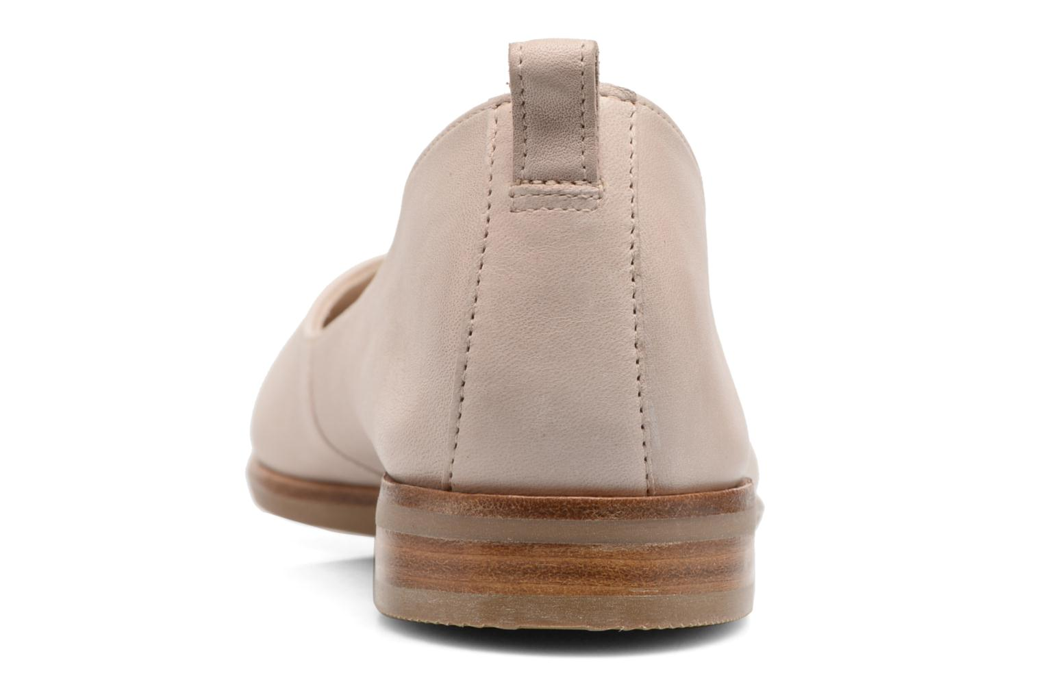 Ballet pumps Clarks Alania Rosa Pink view from the right
