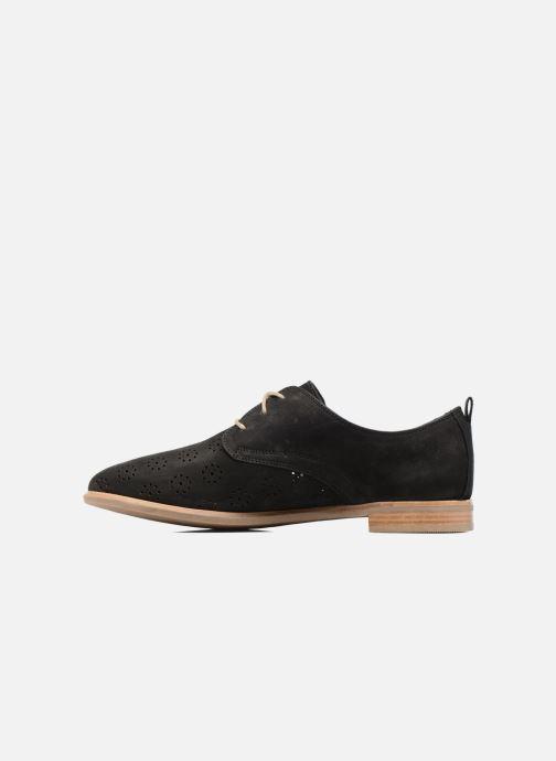 Zapatos con cordones Clarks Alania Posey Negro vista de frente