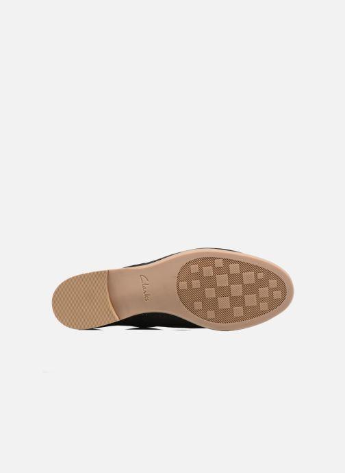 Zapatos con cordones Clarks Alania Posey Negro vista de arriba