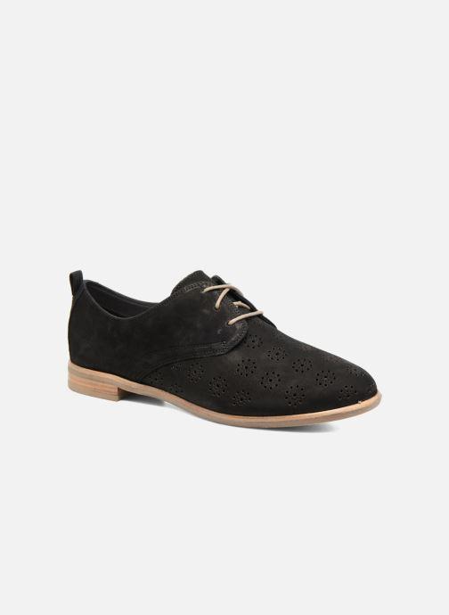 Zapatos con cordones Clarks Alania Posey Negro vista de detalle / par