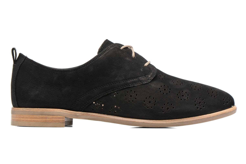 Chaussures à lacets Clarks Alania Posey Noir vue derrière