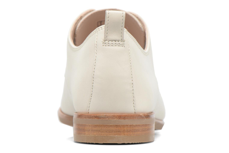 Chaussures à lacets Clarks Alania Posey Blanc vue droite