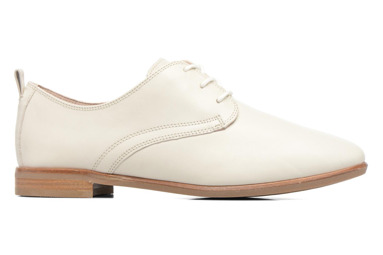Chaussures à lacets Clarks Alania Posey Blanc vue derrière