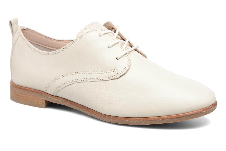 Chaussures à lacets Clarks Alania Posey Blanc vue détail/paire
