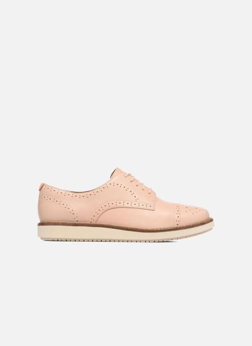 Chaussures à lacets Clarks Glick Shine Rose vue derrière