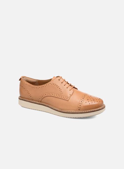 Bevorzugt Damen Schuhe Nude leather Clarks Glick Shine