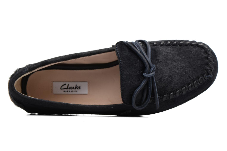 Loafers Clarks Natala Rio Sort se fra venstre