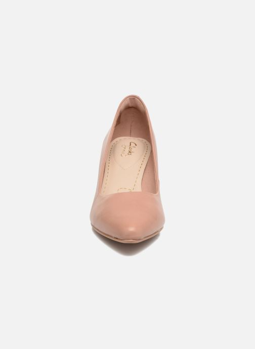 Escarpins Clarks Isidora Faye Rose vue portées chaussures