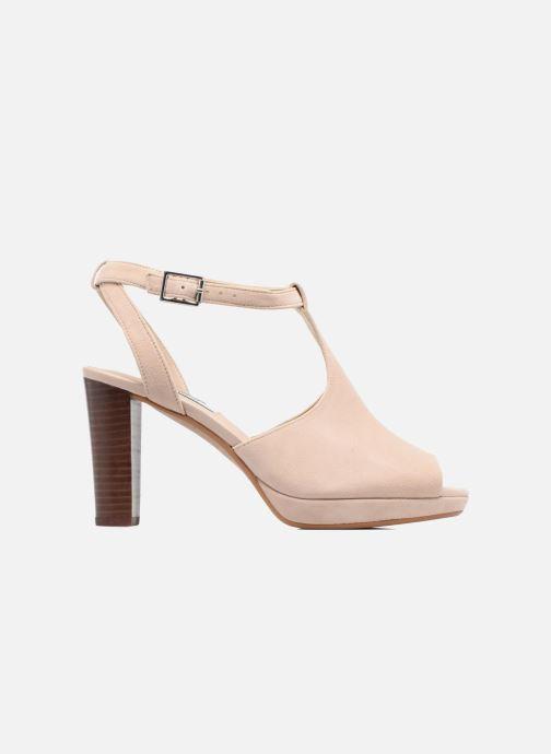 Zapatos de tacón Clarks Kendra Charm Rosa vistra trasera