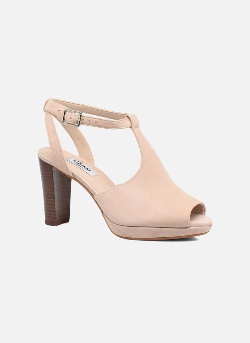 Zapatos de tacón Clarks Kendra Charm Rosa vista de detalle / par