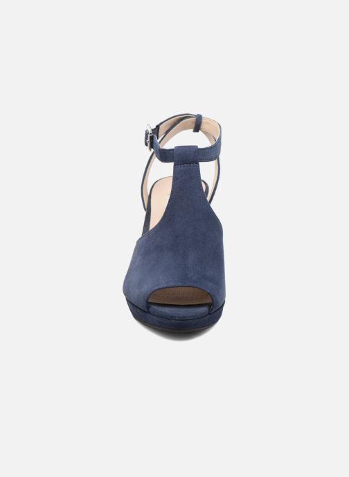 Escarpins Clarks Kendra Charm Bleu vue portées chaussures