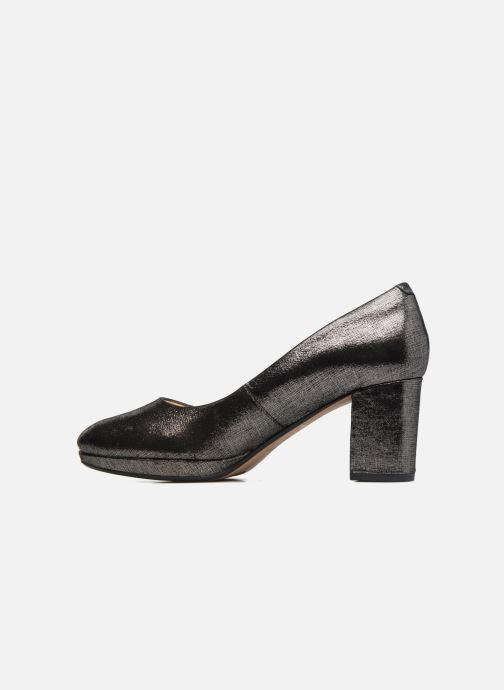 Zapatos de tacón Clarks Kelda Hope Plateado vista de frente