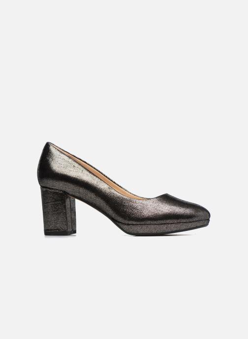 Zapatos de tacón Clarks Kelda Hope Plateado vistra trasera