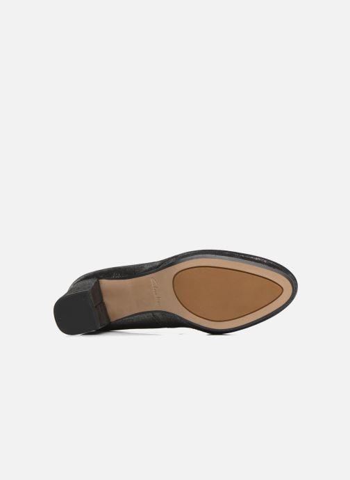 Zapatos de tacón Clarks Kelda Hope Plateado vista de arriba